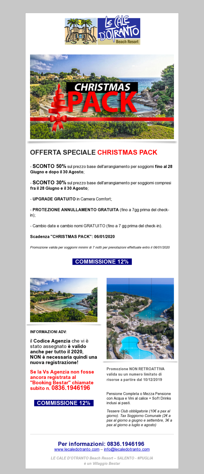 Christmas Pack by Le Cale d'Otranto
